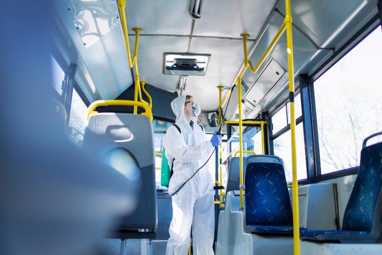 pulizia mezzi pubblici