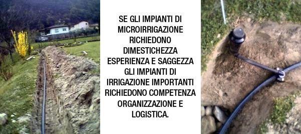 Impianti di irrigazione roma for Girandole per irrigazione